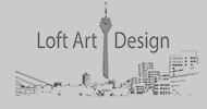 Loft Art Design Logo